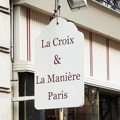 La Croix & La Maniere ラクロワ・エ・ラ・マニエールっつー、手芸屋。