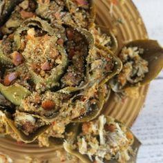 Crabmeat Suffed Artichoke recipe