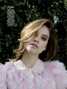 la piscine: barbara palvin by nadine ottawa for l'officiel paris june / july 2015