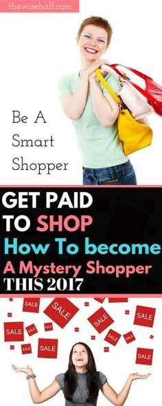 Get paid to shop. How to make money being a mystery shopperFind the legitimate companies to work with. Get paid to be a mystery shopper. Earn Money From Home, Make Money Fast, Make Money Online, Work From Home Companies, Work From Home Tips, Online Jobs For Moms, Online Work, Online Job Opportunities, Mystery Shopper