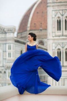 Cobalt blue #fashion #trends