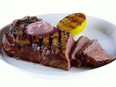 NY Strip Steak with Red Wine-Rosemary Butter Recipe : Giada De Laurentiis : Food Network