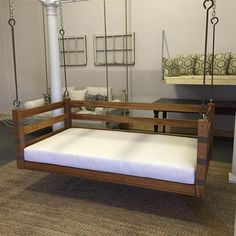 The Ion - Not your average porch swing! Our swing beds are hand-built, unique and customized per client. If you can dream it, we can build it.