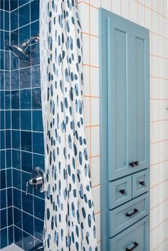 Blue Bathroom Duo – Amanda Louise Interiors