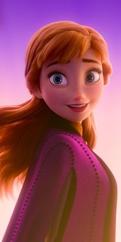 disney wallpaper Anna Wallpaper (Phone PC below) - Frozen Anna Disney, Princesa Disney Frozen, Disney Rapunzel, Disney Frozen Elsa, Disney Art, Disney Princesses, Princess Anna Frozen, Frozen Anime, Disney Icons