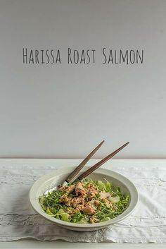 Harissa Roast Salmon | The Hedgecombers