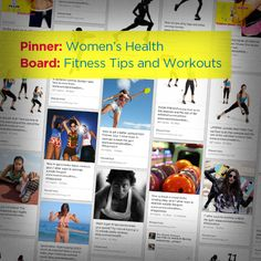 Women's Health's Fitness Tips and Workouts Board https://www.womenshealthmag.com/fitness/pinterest-fitness/slide/4
