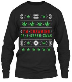 Weed Lovers Ugly Christmas Sweater Shirt | Teespring
