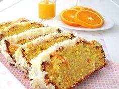 Easy Orange Cake with Orange Icing