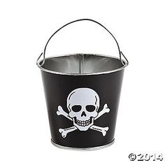 Pirate Pails (OMG, for party favors?)