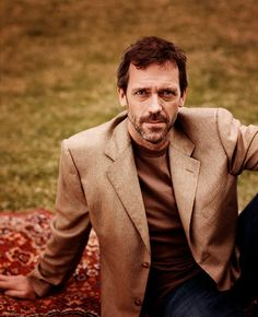 Hugh Laurie.  man oh man.  age has been most kind.