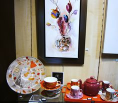 Instant détente tasses et théières en #porcelaine pour découvrir les thés du monde. #Déco #Table