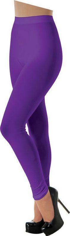 Adult Purple Leggings $13.57 Size: Standard. #MardiGras #Costumes http://www.halloweencostumes4u.com/prods/rub32064.html