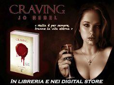 Craving - Jo Rebel #StayVampire #Vampiri #Vampire #romanzo #urbanfantasy