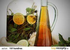 "Mátový "" Mojito "" sirup recept - TopRecepty.cz Mojito Recipe, Czech Recipes, Marmalade, Smoothie, Glass Vase, Frozen, Spices, Food And Drink, Homemade"
