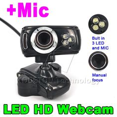 3LED HD 50.0 Mega Pixel Web cam with Dimmer USB 2.0 50M Webcam With Mic Microphone for PC Computer Laptop Desktop //Price: $8.99 & FREE Shipping //     #hashtag4 Pc Computer, Laptop Computers, Dim Lighting, Notebook Laptop, Usb, Digital, Gadgets, Free Shipping, Gadget
