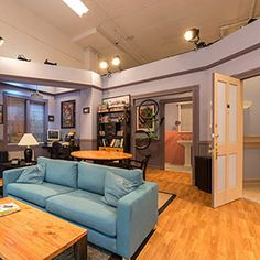 Each week, the TOH team scours the web for home-related stories we love, like this behind-the-scenes tour of Jerry Seinfeld's TV apartment.  We hope you find them inspiring, informative, or just plain fun.