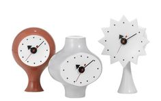 These Vitra clocks are fun