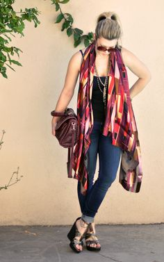 Scarf to Shawl