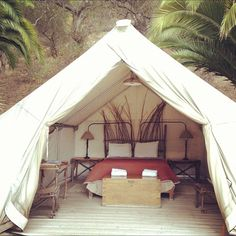 @El Capitan Canyon safari tent adventure