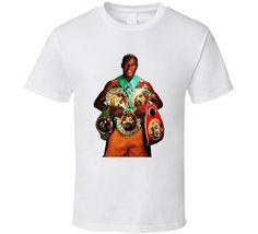 Floyd Mayweather 5 Belts Cool Boxer Fan T Shirt