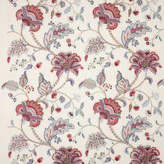 Manuel Canovas: Nina fabric in Cardinal