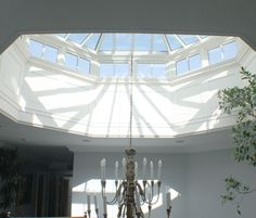 We call this a skylight... the English call it a  Roof Lantern.  They always have a much better way to say it!