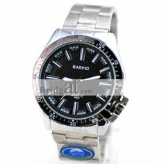 Excellent Steel Wrist Watch for Men with Imported Quartz Movement: USD $10.11