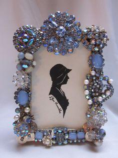Vintage Repurposed Rhinestone Jewelry by dJonVintageDesign on Etsy, $88.00