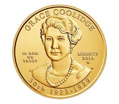 Grace Coolidge 2014 First Spouse Series One-Half Ounce Gold Uncirculated Coin