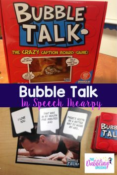 Today I want to share how to use Bubble Talk in speech therapy with your upper elementary and middle school students. When I saw this game at Target, I had to have it. I think you will want it too! The format of the game is similar to Apples to Apples. You place a photo …