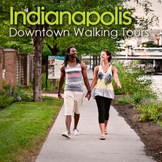 Walking tours in downtown Indianapolis