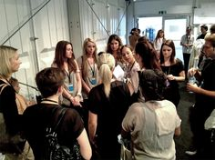 Backstage rebekka ruétz Mercedes-Benz Fashion Week Berlin