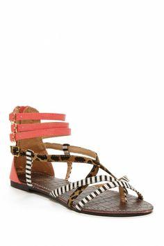 Hera Mix Media Sandal