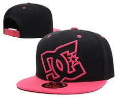 DC Snapback Hats Black Pink|only US$20.00 - follow me to pick up couopons.