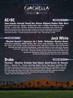 2015 Coachella Lineup Poster - Thrillist