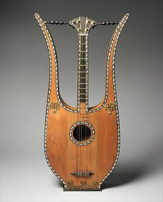 Lyre Guitar   French   The Met