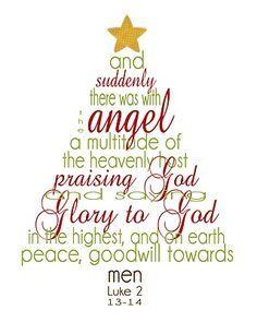 free printable christmas word art luke 2
