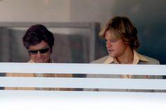 Check out Michael Douglas as Liberace and Matt Damon's big hair