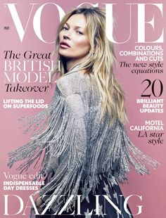 Kate Moss by Craig McDean Vogue UK May 2014