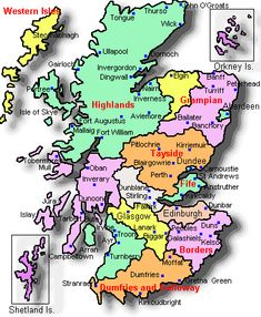 which area is considered the highlands of scotland - Yahoo Image Search Results Scotland Country, Scotland Map, England And Scotland, Scotland Travel, Ireland Travel, Scotland Culture, Scottish English, Scottish Gaelic, Scottish Clans