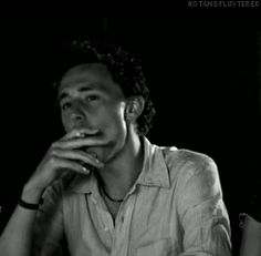 Tom Hiddleston in Unrelated.(GIF) OMG NOW I WANT A CIGARETTE!! (And Tom!!) OK. Tom. Then, a cigarette!! ;)