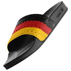 daaff9deb93a35 adidas Germany adilette Flag Slides Adidas Slides