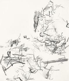 Christine Hiebert, Untitled (rdl. 12.6) 2012, ink and charcoal on paper
