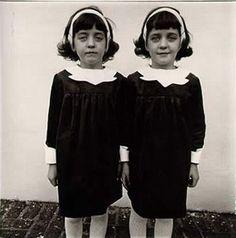 Diane Arbus, Gemelas idénticas, (1967)