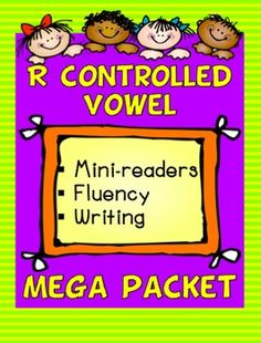 R CONTROLLED VOWEL: Mini readers, fluency activities, and more! I am hoping to use this with my ESL and lower level kids in centers. Reading Fluency, Reading Skills, Teaching Reading, Teaching Ideas, Learning, 2nd Grade Teacher, Elementary Teacher, Word Study, Word Work