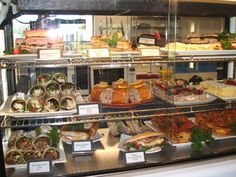 cabinet food ideas for cafe - Google Search