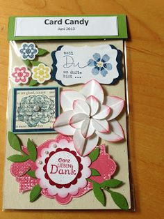 Heikes Kreativseite: Card Candy