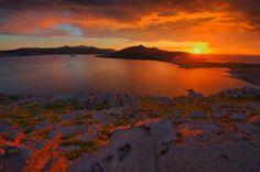 Sunset in Paros island #Paros, #Greece, #Nature #Greek islands