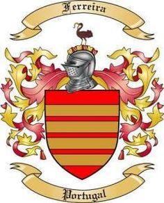 Ferreira del escudo de armas de la familia de Portugal